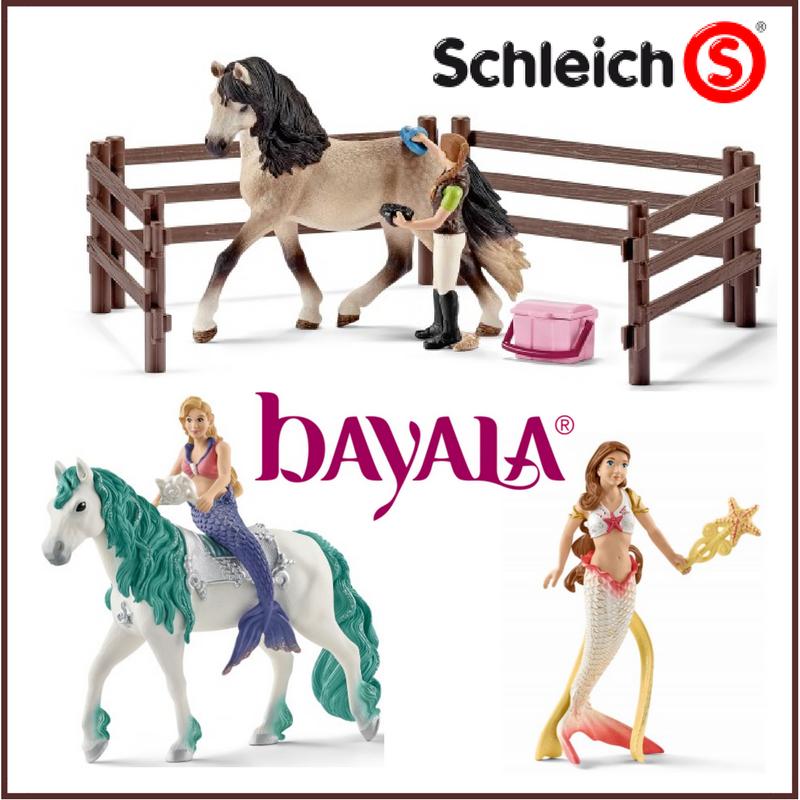 Schleich Bayala Mermaid unicorn horse