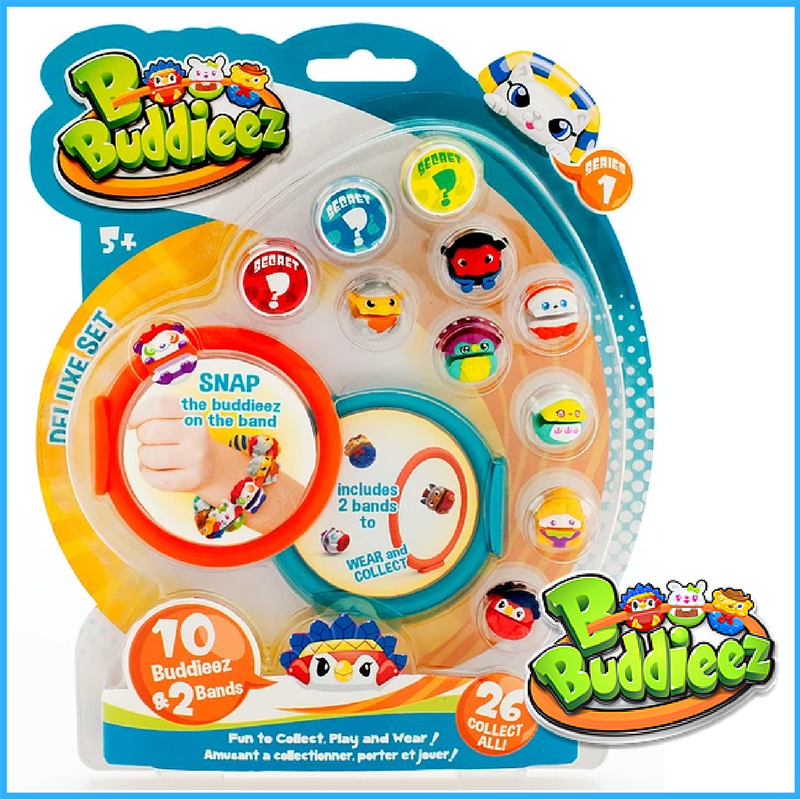 b buddieez playable wearable collectables