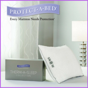 protect a bed cooling pillow