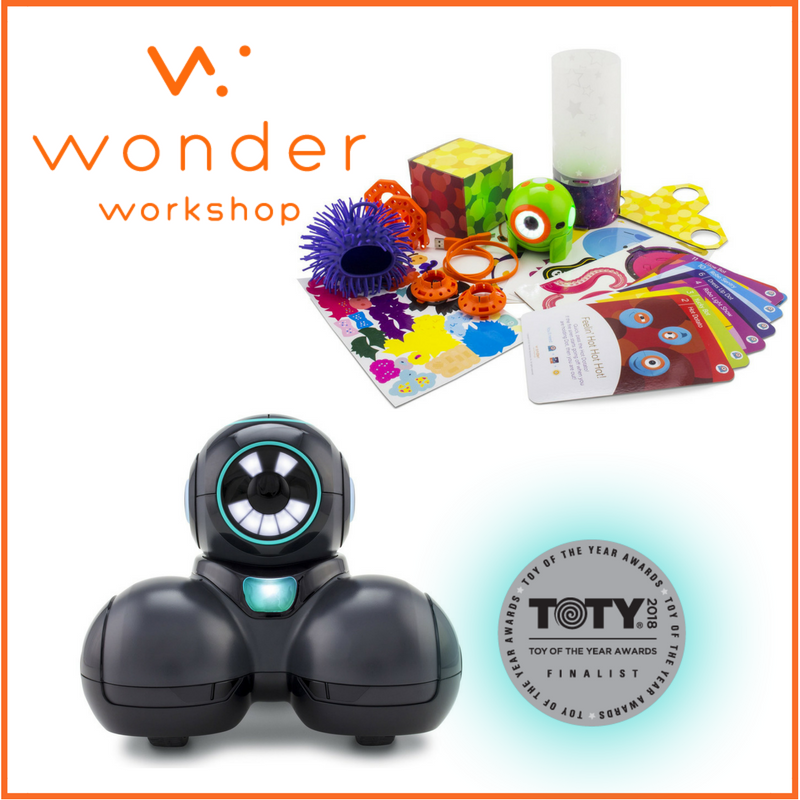 Wonder Workshop Cue Robot and Dot Creativity Kit