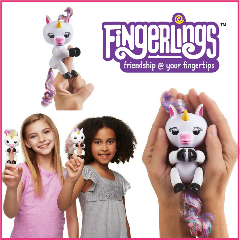 WowWee Fingerlings Gigi Unicorn